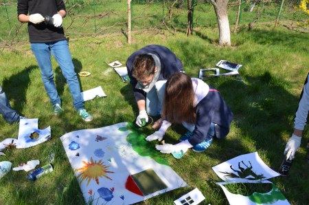 Ateliere de graffiti pentru adolescenţi