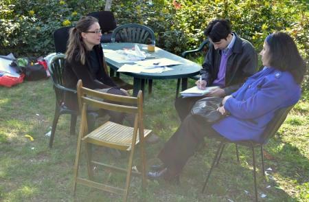 Discuţii despre istoria Berceniului cu locuitori din cartier