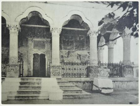 Biserica Mănăstirii Văcăreşti Sursa foto: Bucureşti - album de fotografii, Cartea Romanească, MCMXXIX, 1929