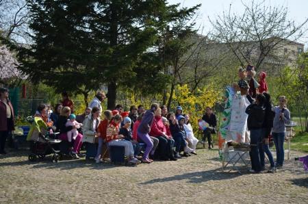 Teatru de păpuşi - trupa Morcoveaţă